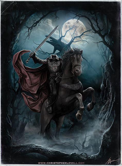 sleepy hollow headless horseman by lovell art on deviantart