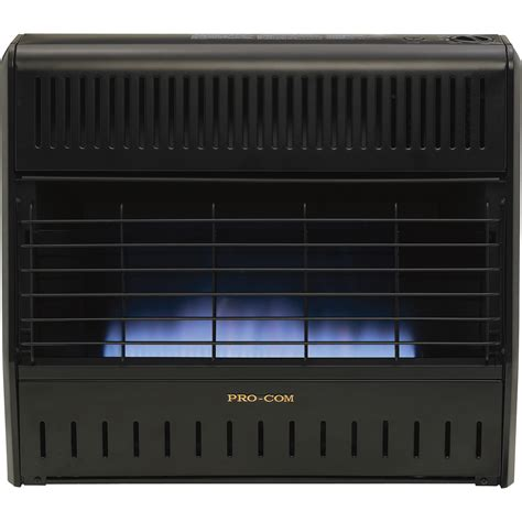 Gas Heaters For Garage by Procom Dual Fuel Vent Free Blue Garage Heater