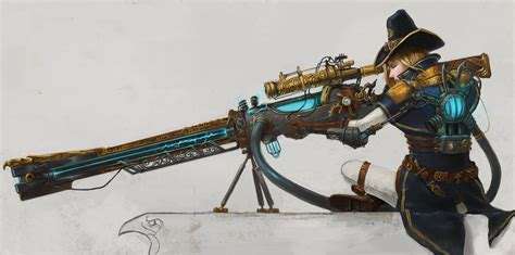 Firearm Giveaway Contests - the order 1886 contest entry rail gun by devmarine on deviantart