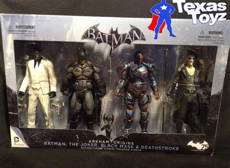 batman figure 4 pack batman arkham origins figure 4 pack