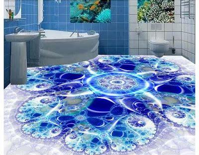 Amazing 3D flooring art, 3D epoxy floor murals installation