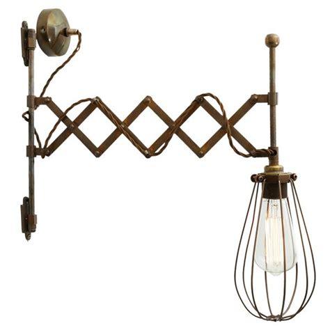 mullan calis scissor arm cage wall light