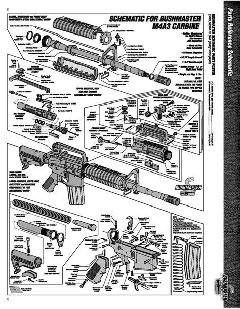 ar 15 parts diagram pdf ar 15 diagrams blueprints images