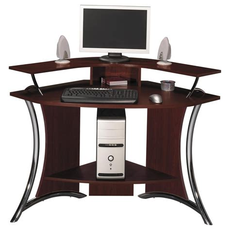Corner Computer Desk Ideas Fabulous Corner Computer Desks For Home Office Furniture Modern Solid Wood Corner Computer