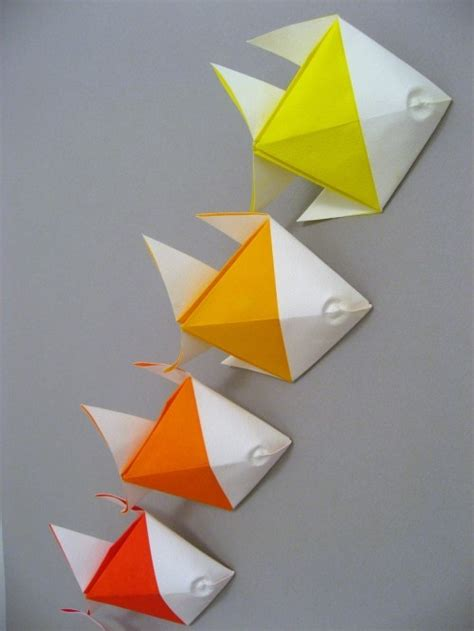 Paper Folding Fish - 25 unique origami fish ideas on origami koi