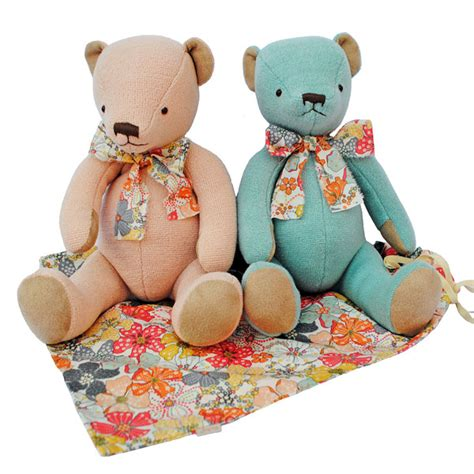 Bag With Teddy Teddy With Bag From Indigo And