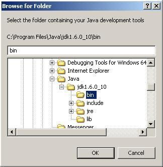 java directory layout creating a java application using perfect developer and