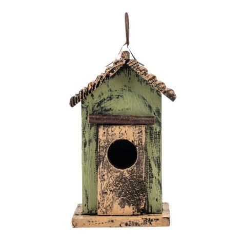 birdhouse home decor 7 quot green hanging rustic style birdhouse home garden decor