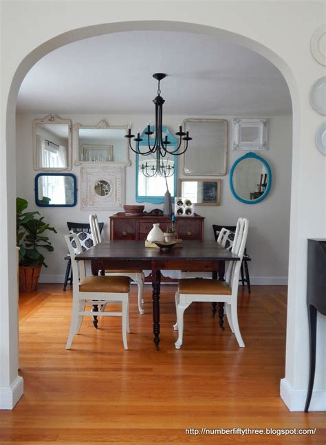 Three Mirrors Dining Room 17 Best Ideas About Mirror Gallery Wall On