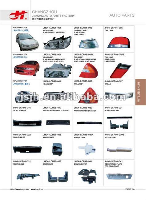 Spare Part L300 for mitsubishi triton 05 l200 l300 05 spare parts page