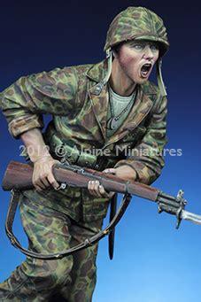 "16018 ""the charge"" usmc 1943/44 (1/16) alpine miniatures"