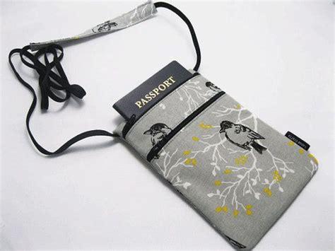 279 Mini Travel Sling Bag Pouch Paspor Travelus V2 Tas small travel pouch fabric passport holder cell phone holder sling
