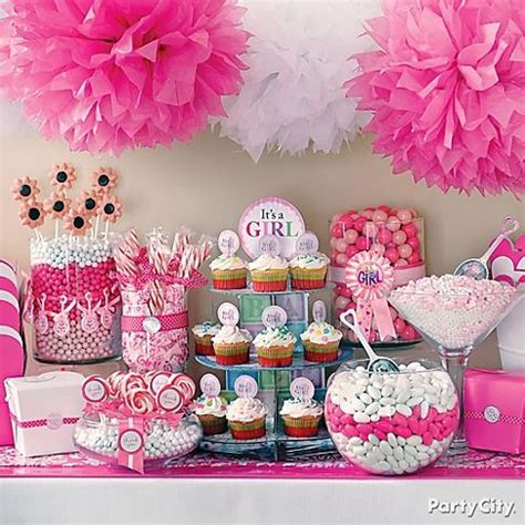 girl baby shower table decorations baby girl shower ideas baby shower decoration ideas