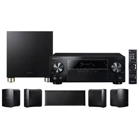 pioneer htp 074 5 1 channel home theatre system receiver
