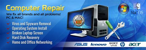 Service Komputer pc parts virus and spyware removal