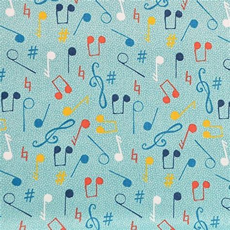 music themed quilting fabric music fabric amazon co uk