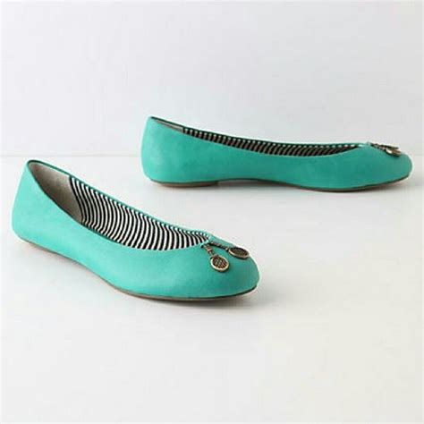 flat teal shoes 17 best ideas about teal flats on crop