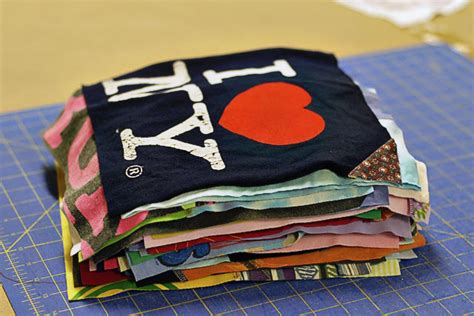 Blanket Out Of T Shirts by A T Shirt Quilt A Tutorial