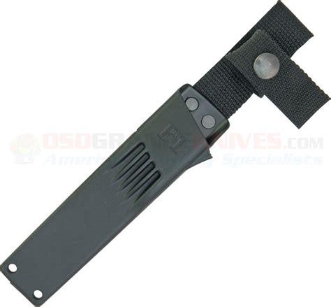 swedish survival knife fallkniven f1 swedish pilot survival knife satin blade