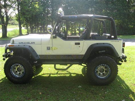 jeep yj custom 1992 jeep wrangler yj custom built 360 mopar lifted with