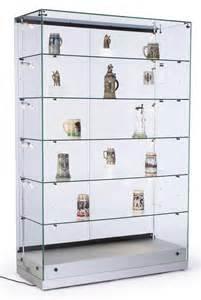 Display Cabinet Track Lighting Display Cases Vertical Lighting Adjustable Shelf