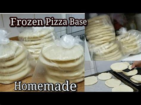 cara membuat base pizza frozen resep roti kenthang doovi