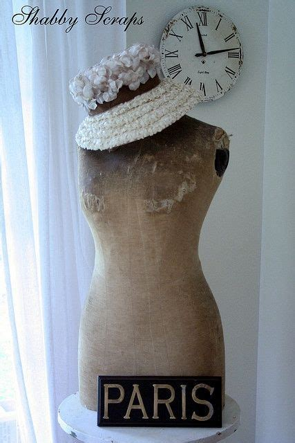 jurken tricot chic dress form paris french dress forms paspop brocante