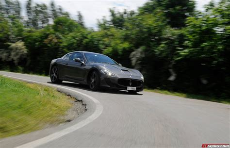 maserati road gallery new maserati granturismo four seat on the road