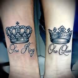 40 king amp queen tattoos that will instantly make your