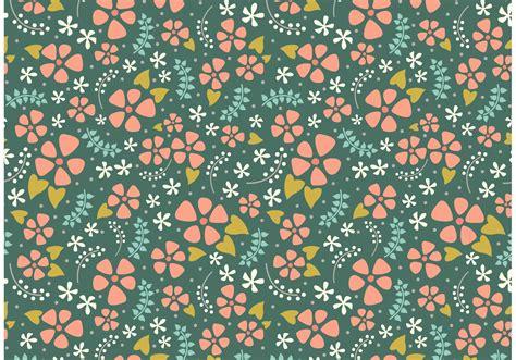 cute floral repeat   vectors clipart