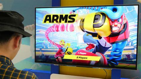 Nintendo Switch Arms 伸縮自在の拳を使って戦うnintendo switchの爽快格闘スポーツゲーム arms をプレイ ライブドアニュース