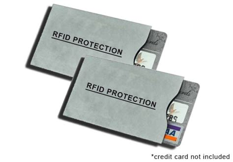 how to make a card sleeve because it s free so why not rfid protection credit card