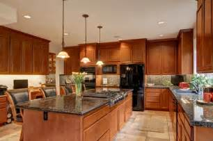 Kitchen Island Stove Top Kitchen With Island Stove Top Contemporary Kitchen Seattle By Architectural Innovations