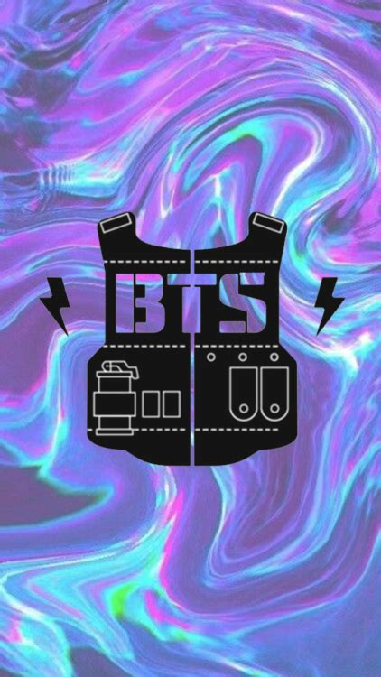 bts logo wallpaper tumblr