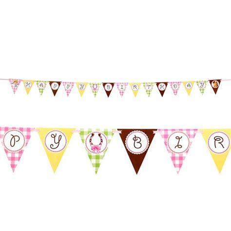 Sale Bunting Flag Hbd Colorful pink ribbon flag banner birthdayexpress