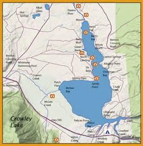 crowley lake eastern sierras
