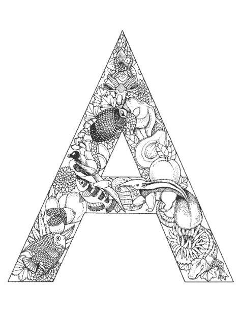 awesome mandala coloring pages letter h design printable coloring coloriage alphabet animaux pour enfants dessins 224