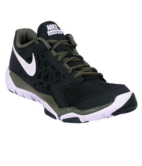 Nike Sport 4 nike flex supreme tr 4 black wht sports shoes price in