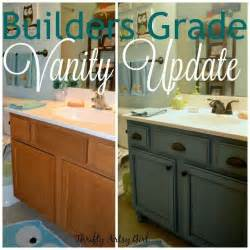 bathroom vanity upgrade for only furniture cabinets and builder paint vanities dreams kids ideas
