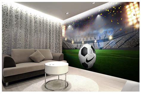 hd wall murals high end custom 3d photo wallpaper 3d wall murals wallpaper hd football field 3d wall decoration