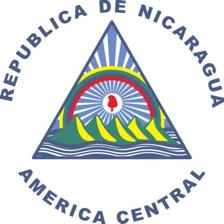 imagenes simbolos patrios de nicaragua escudo de nicaragua logo vector download in eps vector