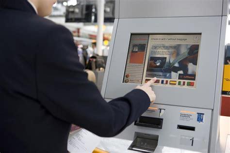 Kiosk Help Desk by Self Service Check In Kiosks Installed At Kuwait International
