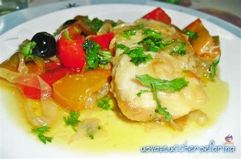 come cucinare i filetti di merluzzo surgelati filetti di merluzzo con peperoni secondo piatto