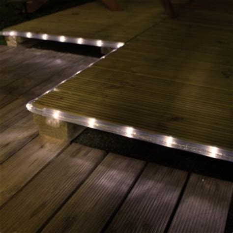 Patio Rope Lights Solar Warm White Rope Light