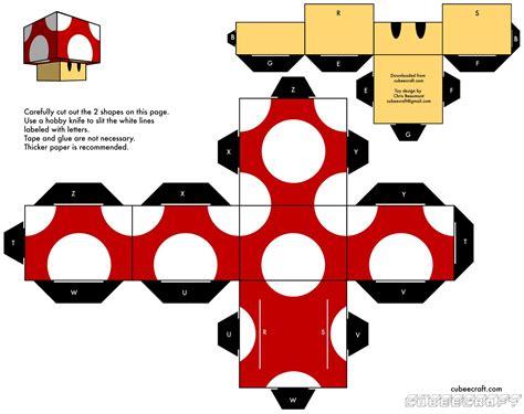 Papercraft Figures - cubeecrafts mu 241 ecos de papel para armar paper toys