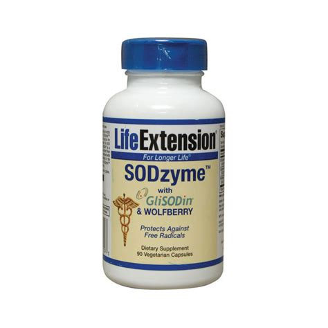 Vitamin Glisodin Extension Sodzyme Glisodin Wolfberry 90 Veg Caps