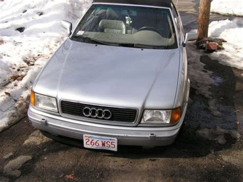 how to sell used cars 1997 audi cabriolet instrument cluster buy used beautiful 1997 audi cabriolet convertible in wakefield massachusetts united states
