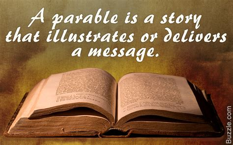 Lit Book Follows Of by Meaning Of Parables Explained With Popular Exles From
