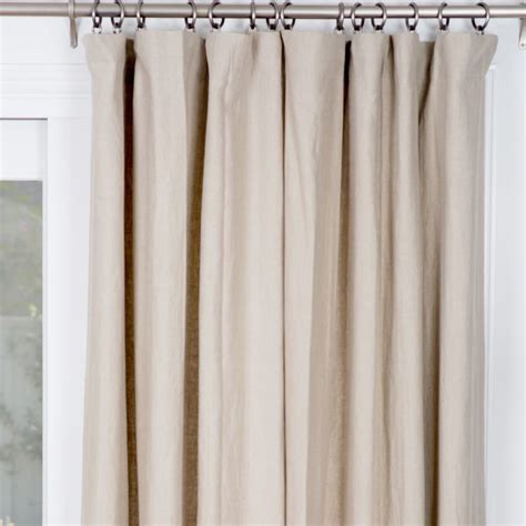 oatmeal linen curtains 71 best images about window treatments on pinterest