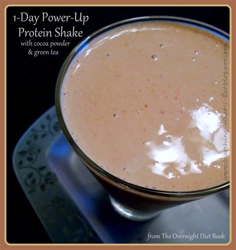 1 protein shake a day diet what i eat 1 day power up protein shake from
